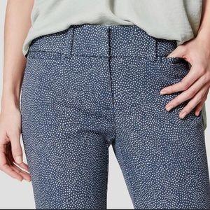 LOFT Julie The Riviera Pant Crop Casual Pants, 2
